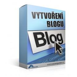 Vytvoření blogu