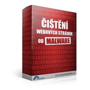 Čištění webových stránek od malware