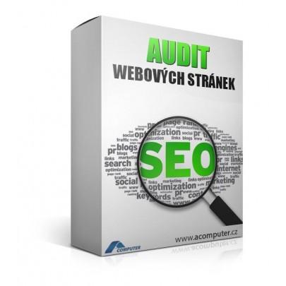 SEO audit webových stránek