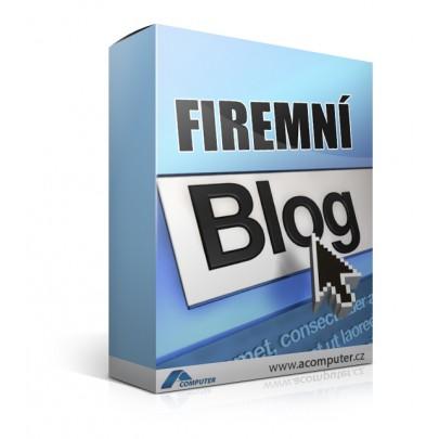 Firemní blog