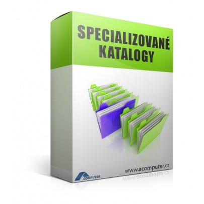 Specializované katalogy