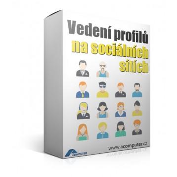Vedení profilů na sociálních sítích