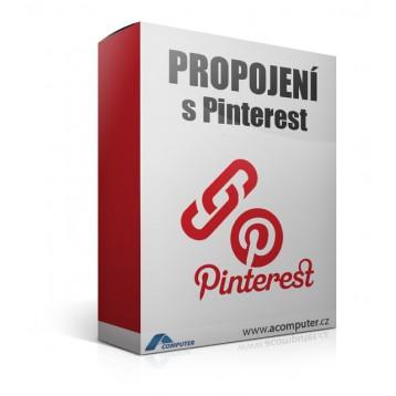 Propojení s Pinterest